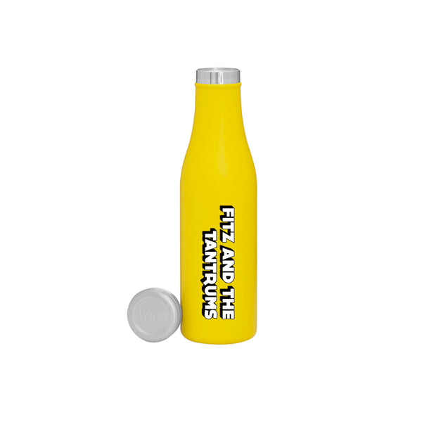 FITZ LOGO YELLOW WATERBOTTLE