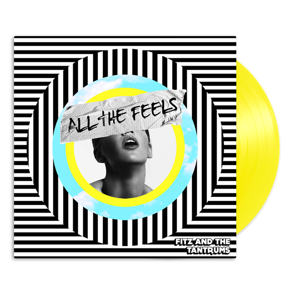 All The Feels Vinyl Yellow LP - Online Exclusive (only 500 made)