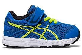 Asics Contend 6 TS - Blue/Lime