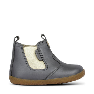 Bobux Step Up Jodhpur Boot - Charcoal Shimmer