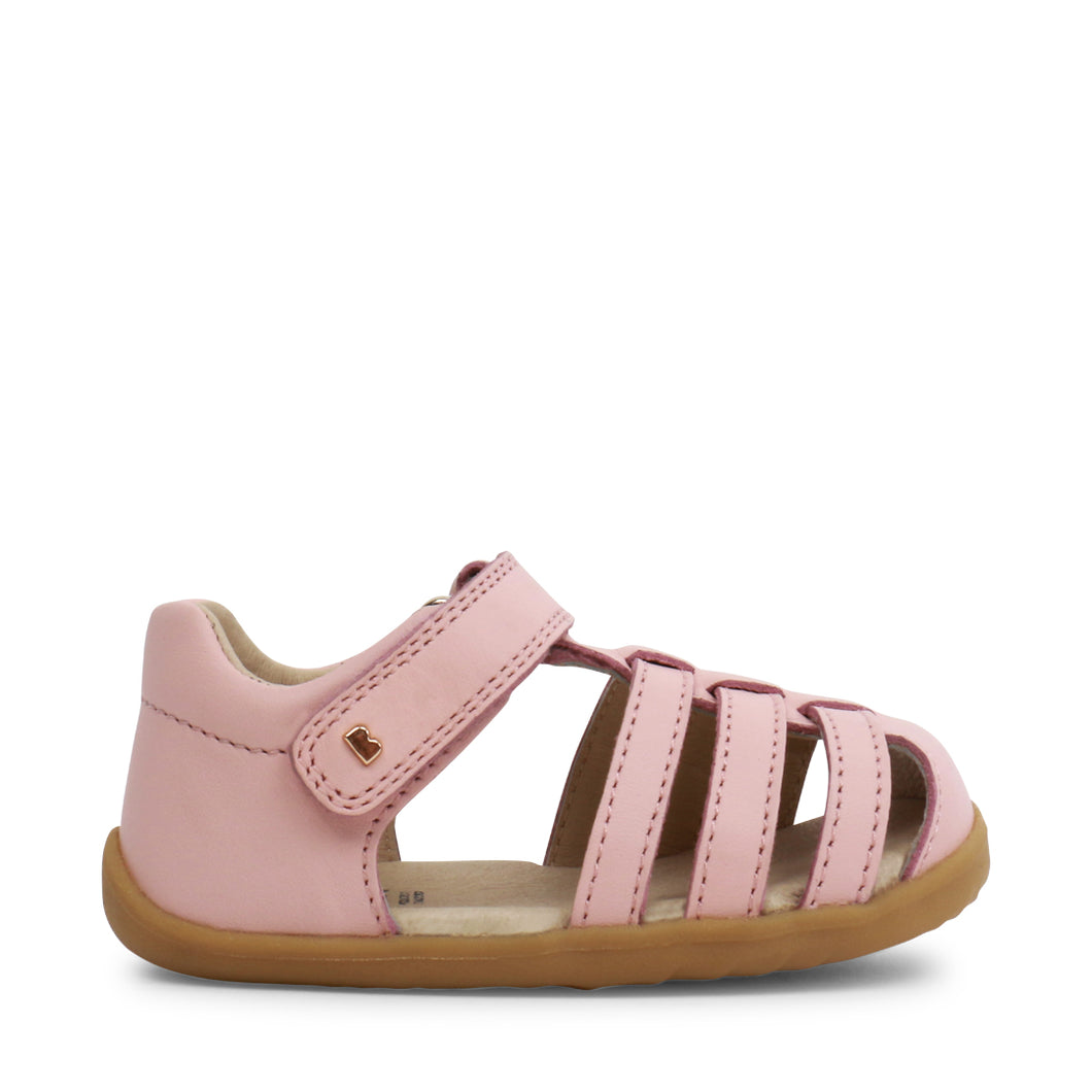 Bobux Step Up Jump Sandal - Seashell Pink
