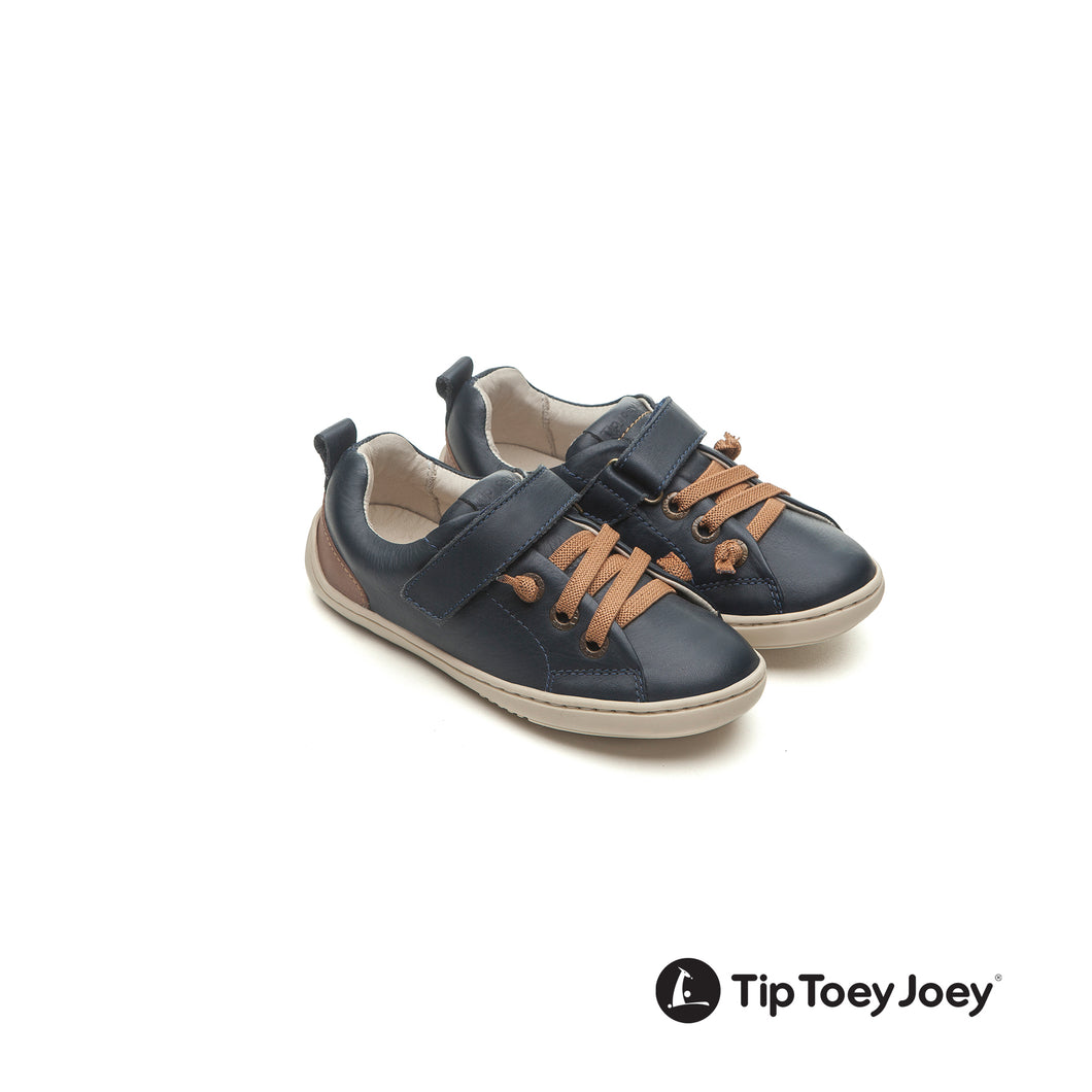 Tip Toey Joey Little Grao - Navy/Whisky