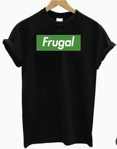 Classic Frugal - Black Short Sleeve
