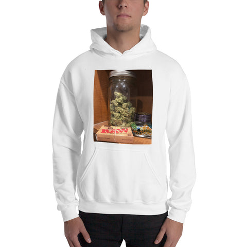 Jar of Fire-Hooded Sweatshirt