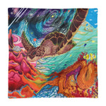 Galactic Sea Turtle-Pillow Case