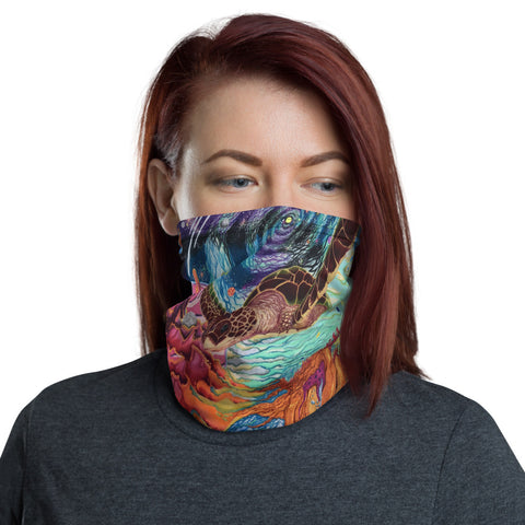 Galactic Sea Turtle-Neck Gaiter