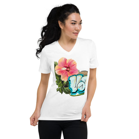 VAKA Short Sleeve V-Neck T-Shirt