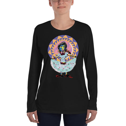 La Jarocha Ladies Long Sleeve T-Shirt