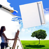 White Blank Square Canvas Wooden Frame For Primed Oil Acrylic Painting Picture DIY Wall Photo Poster Frame Painting Canvas