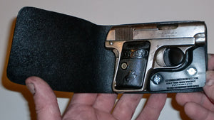 Pocket Holster, Wallet Style For Full Concealment - Colt 1908 Vest Pocket