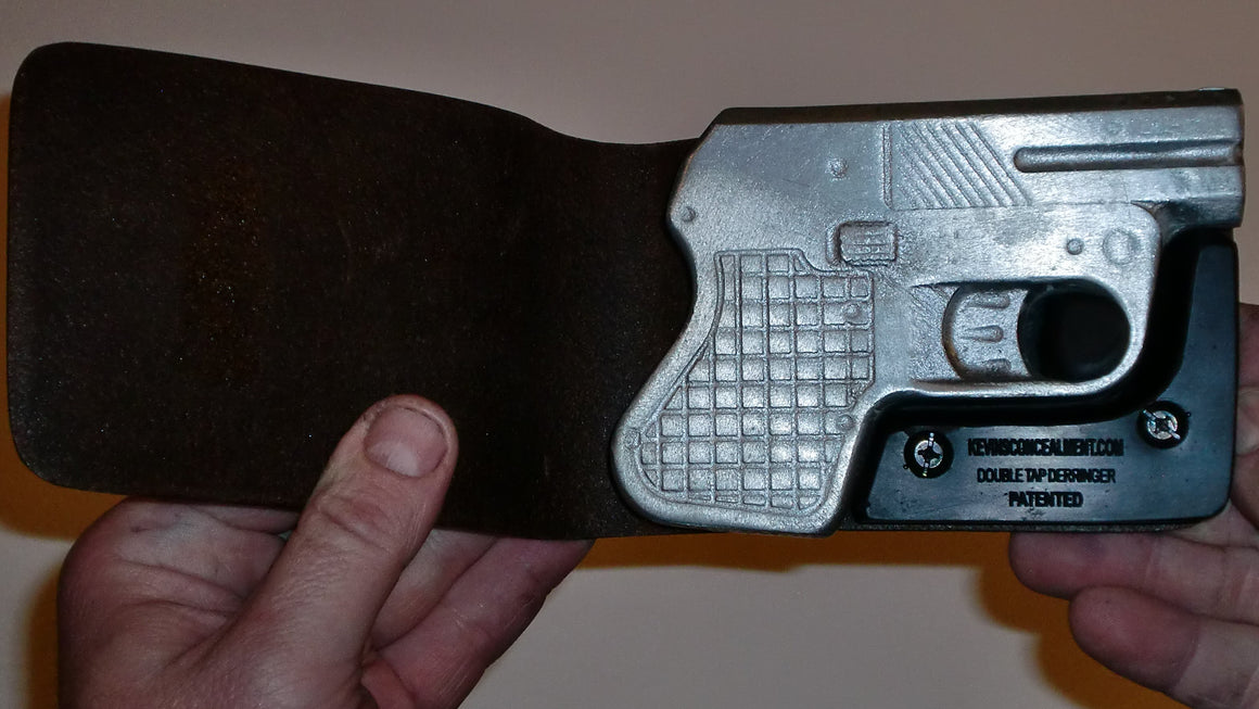 Wallet Holster For Full Concealment - Double Tap Derringer