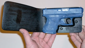 Wallet Holster For Full Concealment - Glock 26, 27, 33