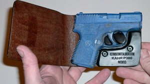 Wallet Holster For Full Concealment - Kahr P380/CW380