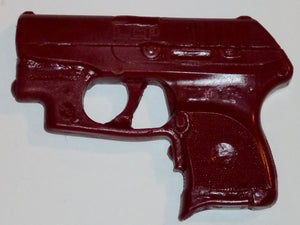 Dummy Gun Holster Making Gunmold for Ruger LCP Crimson Trace Laserguard