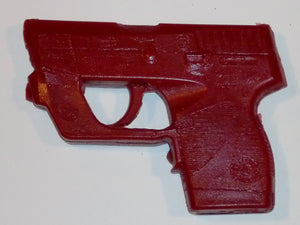Dummy Gun Holster Making Gunmold for Taurus TCP Crimson Trace Laserguard