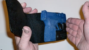 Pocket Holster, Wallet Style For Full Concealment - Springfield Hellcat