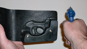 "Pocket Holster, Wallet Style For Full Concealment - S&W J-Frame 2"" Revolver"