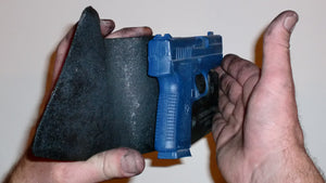 Wallet Holster For Full Concealment - Kahr PM45