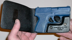 Wallet Holster For Full Concealment - Kahr PM9