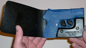 Wallet Holster For Full Concealment - KelTec PF9