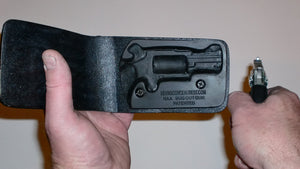 Pocket Holster, Wallet Style For Full Concealment - NAA Bug Out Gun