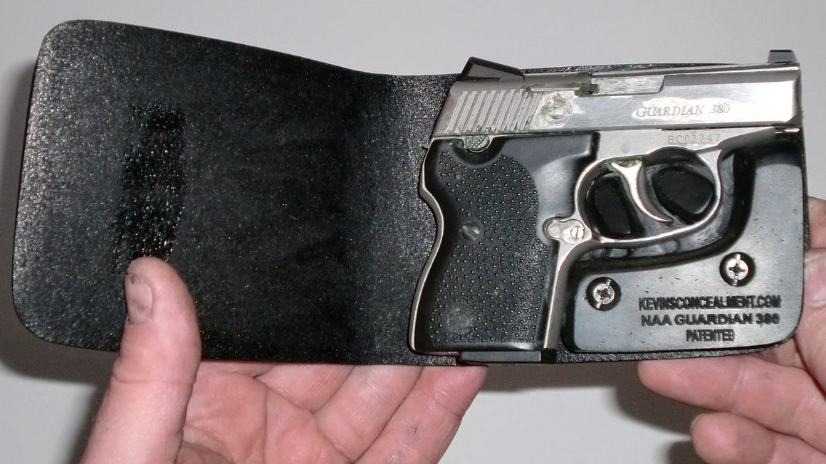 Wallet Holster For Full Concealment - NAA Guardian 380