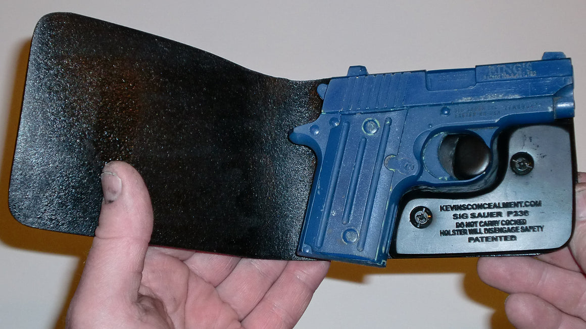 Wallet Holster For Full Concealment - Sig 238