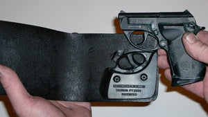 Wallet Holster For Full Concealment - Taurus PT-22/PT-25