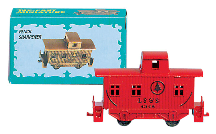 Red Caboose Pencil Sharpener
