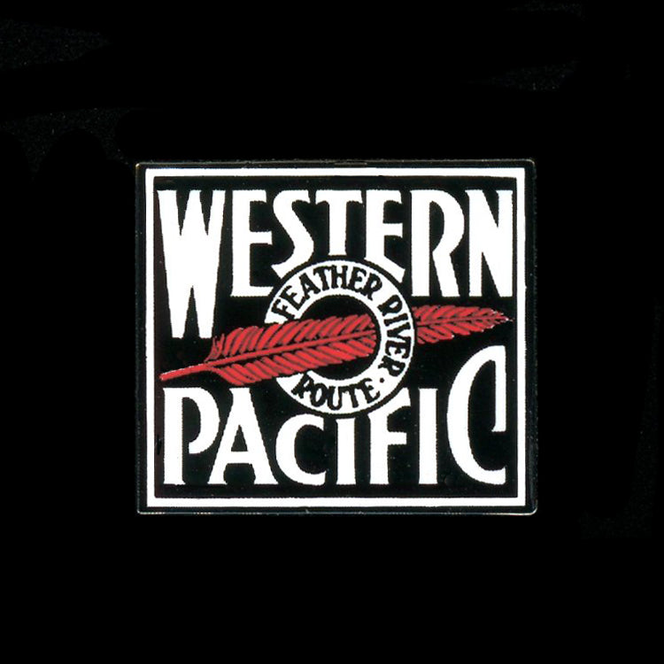 Western Pacific Railroad Pin
