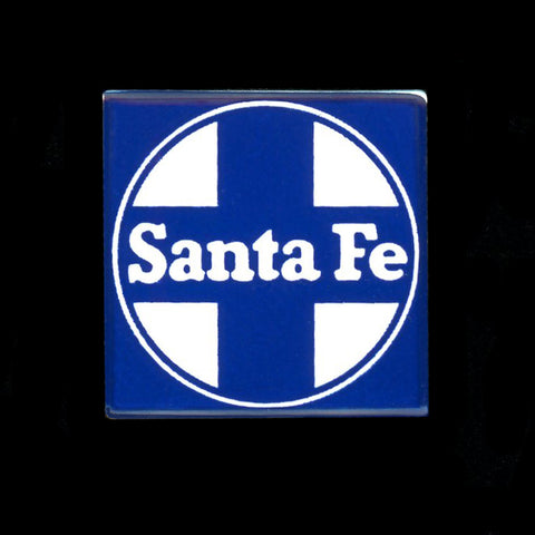 Santa Fe Railroad Pin