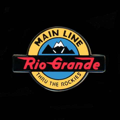 Rio Grande Mainline Railroad Pin