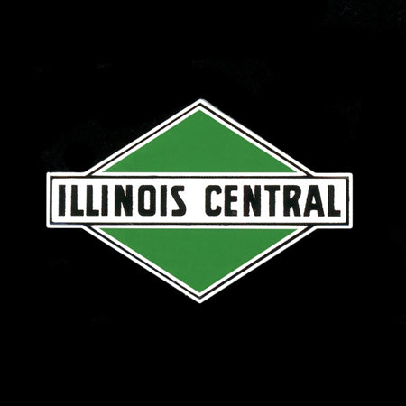 Illinois Central Railroad Pin