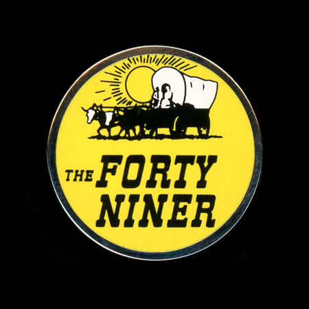 Forty Niner Railroad Pin