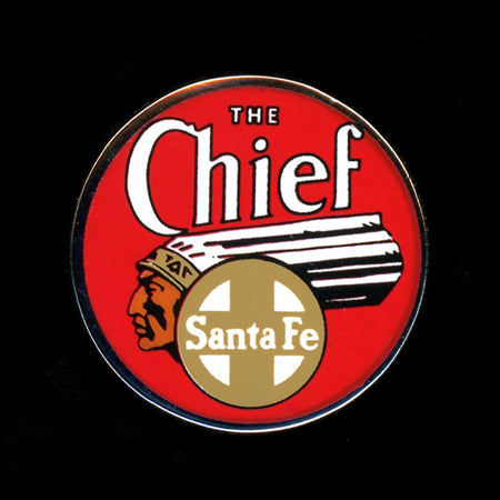 The Chief (Santa Fe) Railroad Pin