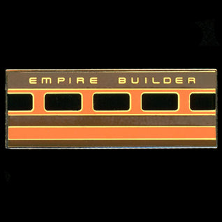 Empire Builder Railroad Pin