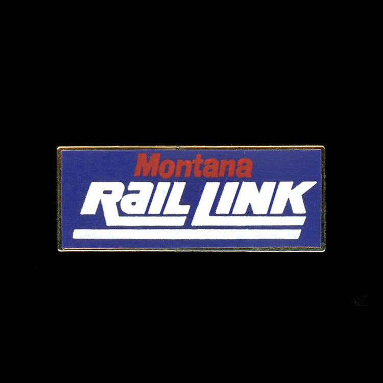 Montana Rail Link Railroad Pin