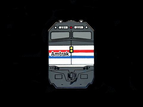 Amtrak F40PH Locomotive Pin