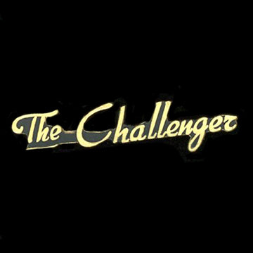 The Challenger Railroad Pin