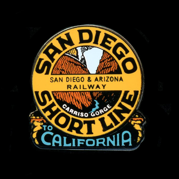 San Diego Shortline Railroad Pin