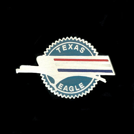 Texas Eagle Railroad Pin