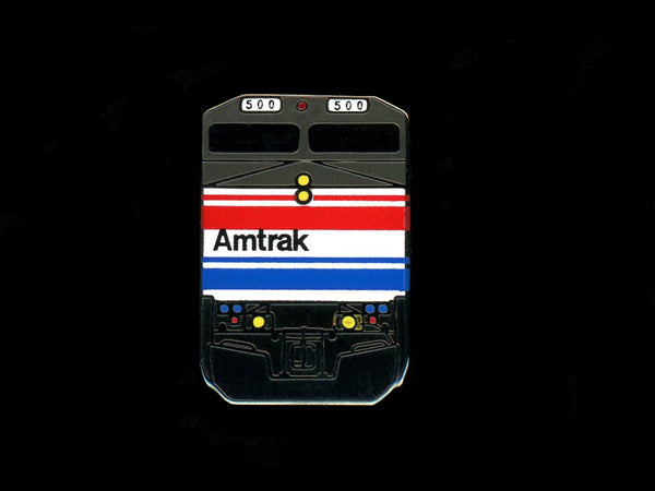 Amtrak P-32 Locomotive Railroad Pin