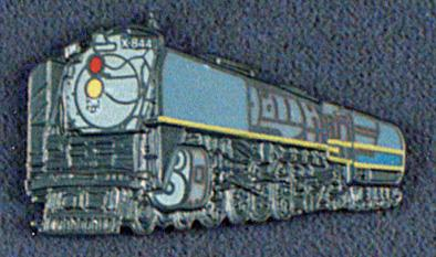 Union Pacific 844 Railroad Pin