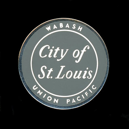 City of St Louis Railroad Pin