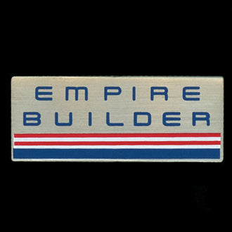 Empire Builder- Red/White/Blue-Railroad Pin