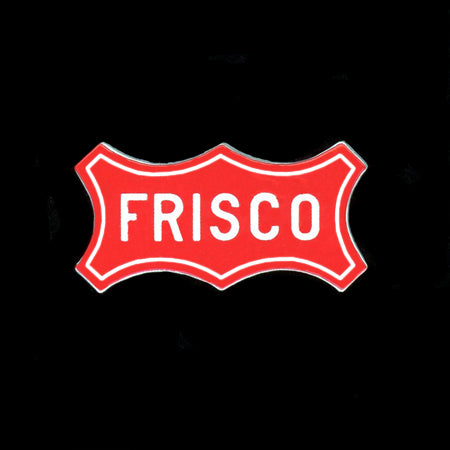 Frisco Logo Railroad Pin