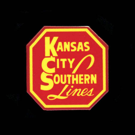 Kansas City Southern Railroad Pin