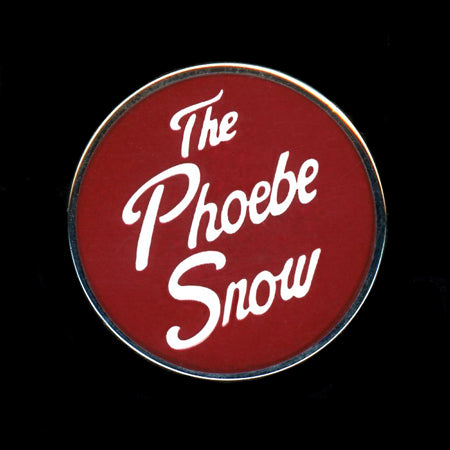 The Phoebe Snow Railroad Pin