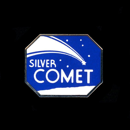 Silver Comet Railroad Pin