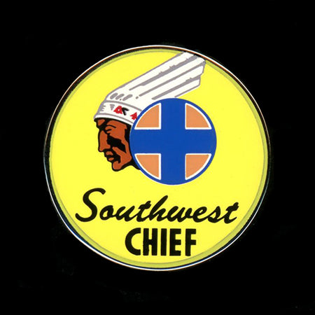 Southwest Chief Railroad Pin